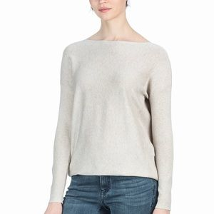 Lilla P. Long Sleeve Easy Boatneck Sweater